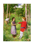 The Woodman's Daughter, 1851 Giclee Print by John Everett Millais