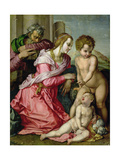 The Holy Family Giclee Print by Jacopo da Carucci Pontormo