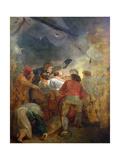 A Gun Crew Giclee Print by Thomas Stothard
