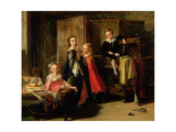 Dressing for the Charade: the Children of Patrick Allan Fraser, 1886 Giclee Print by Robert Herdman