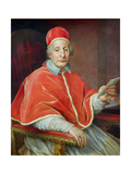 Portrait of Pope Clement Xii Giclee Print by Agostino Masucci