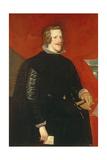 King Philip IV of Spain (1605-65), C.1632 Giclée-Druck von Diego Rodriguez de Silva y Velazquez