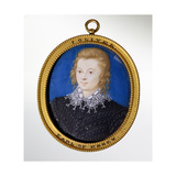 Portrait of Robert Devereux, Earl of Essex (1567-1601) Giclee Print by Isaac Oliver