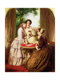 Doubtful Fortune Giclee Print by Abraham Solomon