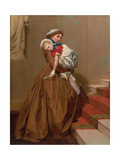Miss Lily's Return from the Ball, 1866 Giclee Print by James Hayllar