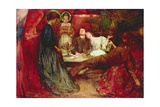 'What are These to Me and You Who Deeply Drink of Wine', 1895 Giclee Print by Charles Sims