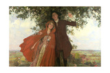 Tess of the D'Urbervilles Or, the Elopement Giclee Print by William Hatherell