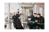 The Captain's Daughter Giclee Print by James Tissot