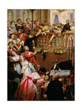 Before Waterloo Giclee Print by Henry Nelson O'Neil