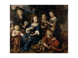 The Children of Altetus Tolling, 1667 Giclee Print by Gerbrandt Van Den Eeckhout