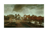 Whitehall Palace and St. James's Park Giclee Print by Hendrick Danckerts
