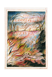 Title Page to 'The Marriage of Heaven and Hell', 1790-3 Giclée-Druck von William Blake