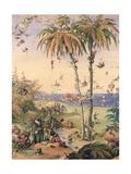 The Enchanted Tree, a Fantasy Based on 'The Tempest', 1845 Lámina giclée por Richard Doyle