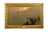 Westminster, 1878 Giclee Print by Giuseppe Or Joseph De Nittis