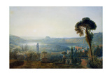 An Ancient Garden, 1834 Giclee Print by Francis Danby