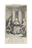 Mr Foote as Mrs Cole in 'The Minor', Engraved by W. Walker, 1777 Giclee Print by Daniel Dodd