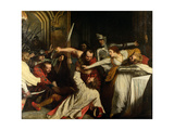 The Murder of Rizzio, 1787 Giclee Print by John Opie