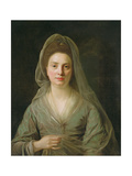 Mrs Benjamin Cole, C.1776 Giclee Print by Nathaniel Hone