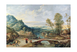 Landscape Giclee Print by Joos or Josse de, The Younger Momper