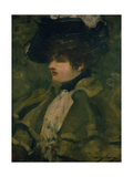 Portrait of Sarah Bernhardt Giclee Print by Dudley Hardy