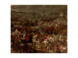 The Battle of Vienna, after 1683 Giclee Print by Pauwel Casteels