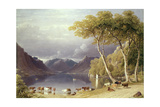 Head of Ullswater in the Lake District Giclee Print by George Fennel Robson