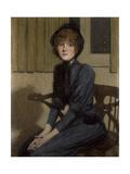 The Blue Dress, 1892 Giclee Print by Philip Wilson Steer