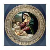 The Madonna and Child, C.1513 Giclée-tryk af Sebastiano del Piombo
