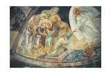 Anastasis in the Parecclesian Apse Vault, 1310-20 Giclee Print