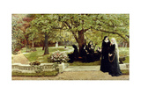 The Convent Garden, 1878 Giclee Print by Francis S. Walker