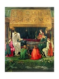 The Last Sleep of Arthur in Avalon, 1881-98 Giclee Print by Sir Edward Coley Burne-Jones