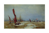 Commerce and Sea Power, 1898 Giclee Print by William Lionel Wyllie