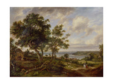 Meeting of the Avon and the Severn, 1826 Giclee Print by Patrick Nasmyth