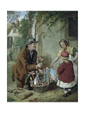 The New Toy, 1865 Giclee Print by Henry Charles Bryant