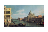 View of the Grand Canal: Santa Maria Della Salute and the Dogana from Campo Santa Maria Zobenigo,… Giclee Print by  Canaletto