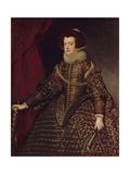 Queen Isabella of Spain (1602-44), Wife of Philip IV (1605-65), 1632 Giclée-Druck von Diego Rodriguez de Silva y Velazquez