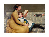 Alice in Wonderland Giclee Print by George Dunlop Leslie