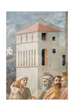 St. Peter Distributing the Common Goods of the Church, and the Death of Ananias, (Detail), C.1427 Giclee Print by Tommaso Masaccio