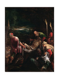 Entombment of Christ, 1578-80 Giclee Print by Leandro Da Ponte Bassano