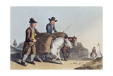 Cloth Makers Taking Cloth to Market, from 'Costume of Yorkshire' Engraved by Robert Havell… Giclee Print by George Walker