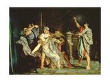 Death of Lucretia Giclee Print by Eduardo Rosales