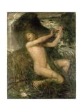 The Water Sprite, 1882 Giclee Print by Ernst Josephson