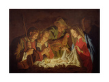 Adoration of the Shepherds Giclee Print by Matthias Stomer