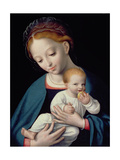 Virgin and Child Giclee Print by Cornelis van Cleve