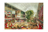 Interior View of Crystal Palace During the Great Exhibition of 1851, Engraved by William Simpson… Giclee Print by J. McNevin