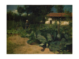 A French Kitchen Garden, 1883 Giclee Print by Edward Stott