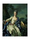The Comtesse De Beaurepaire, 1776 Giclée-Druck von Louis Michel Van Loo