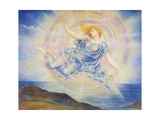 Evening Star over the Sea Giclee Print by Evelyn De Morgan