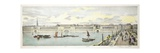 Twin Bridge Project for the New London Bridge, 1802 Giclee Print by George Dance