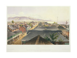 City of Kingston from the Commercial Rooms, Looking Towards the East, Plate 17 from 'West Indian… Giclee Print by Joseph Bartholomew Kidd